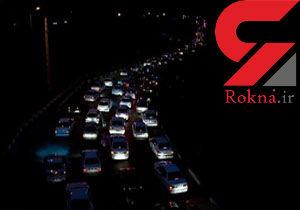 جاده چالوس یکطرفه میشود / ترافیک نیمه سنگین در برخی جاده های منتهی به تهران