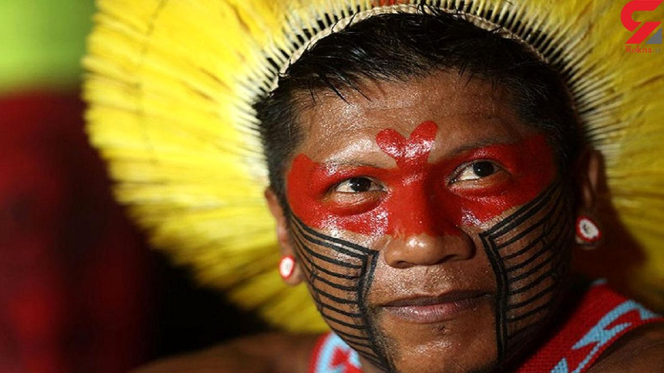 کشف قبیله ای که روی درختان  زندگی می کنند + عکس