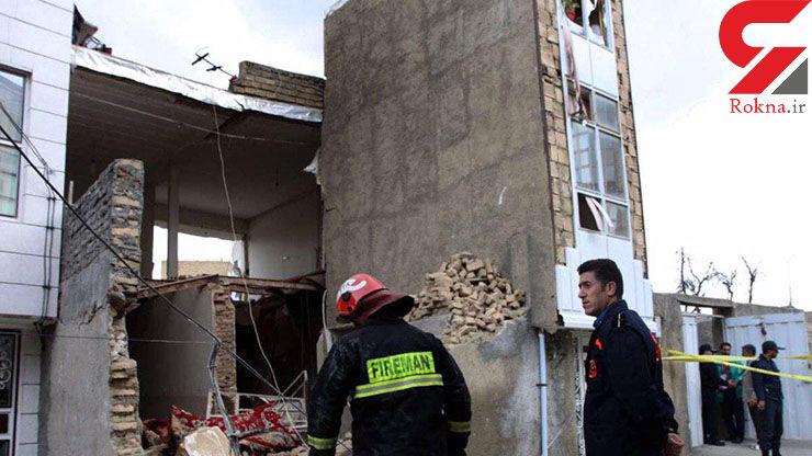 انفجار خونین یک خانه در سردشت+ عکس