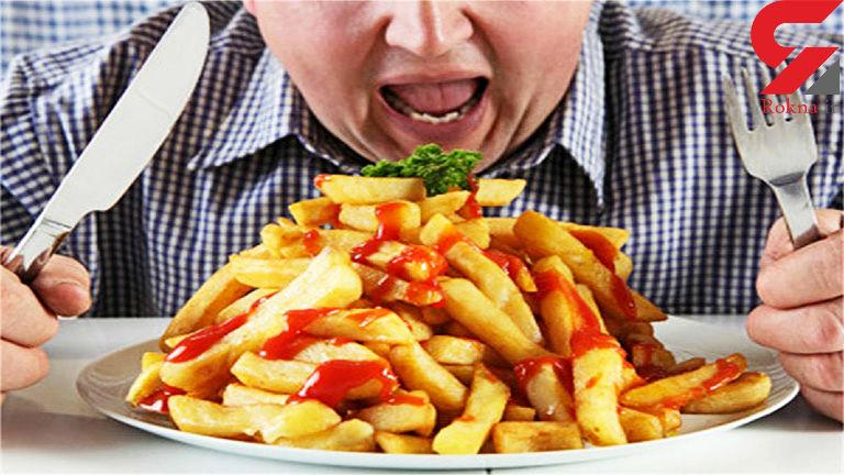 استرس نداشته باشید وگرنه چاق می شوید