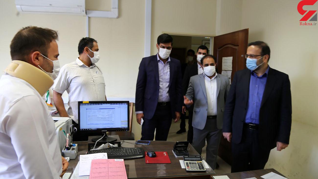 بازدید رئیس کل دادگستری استان البرز از دادگستری اشتهارد