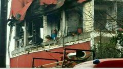 انفجار خونین یک آپارتمان در صومعه سرا+ عکس