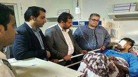 انتقال تکنسین حادثه تیراندازی چابهار به تهران + عکس