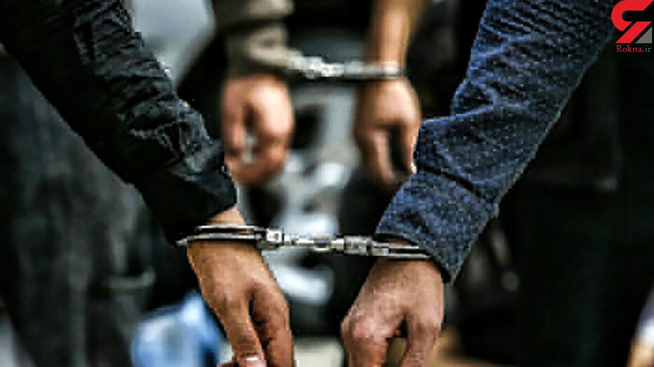 دستگیری عاملان شرارت و تیراندازی خیابانی در مشهد
