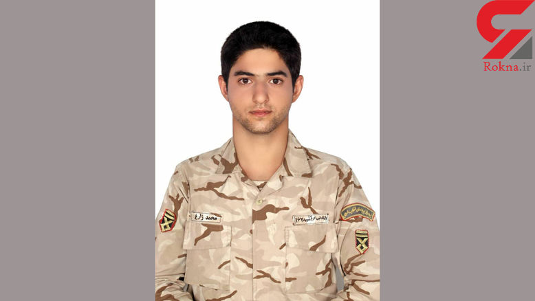 مرگ تلخ  سرباز خوش تیپ  در یزد! / قلبش هنوز می تپد! + عکس