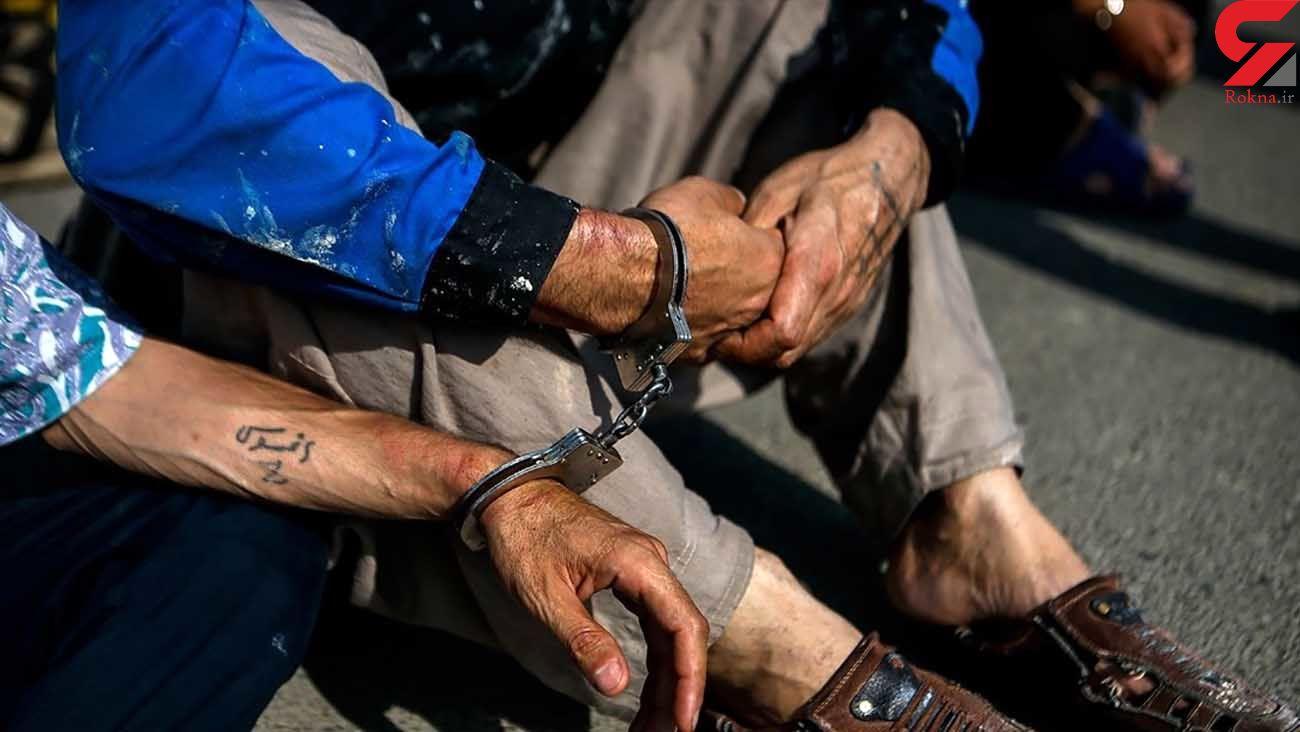 دستگیری 14 شرور در کرمانشاه / زخمی شدن 8 تن در درگیری خونین خیابانی