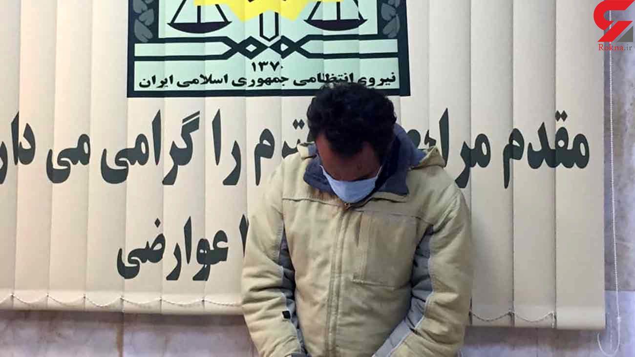 اعتراف به دزدیدن پیچ و مهره های ریل مترو تهران - کرج + عکس
