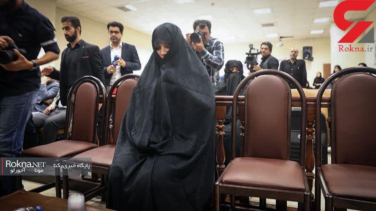 انتشار اولین عکس از شبنم نعمتزاده در دادگاه ! / دختر آقای وزیر بالاخره محاکمه شد