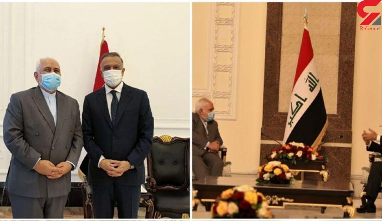 ظریف: دستورالعمل دیدارها در بغداد گسترش همکاری به نفع مردم و منطقه بود