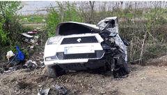 طباطبایی از حادثهسنگین رانندگی جان سالم به در برد+ عکس