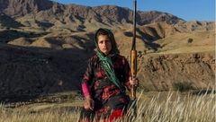 دختر عشایر ایرانی در صفحه نشنال جئوگرافیک + عکس