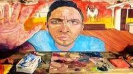 مردی پس از ضربه مغزی هنرمند شد+عکس