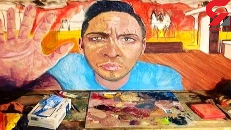 یک مرد پس از ضربه مغزی هنرمند شد+عکس