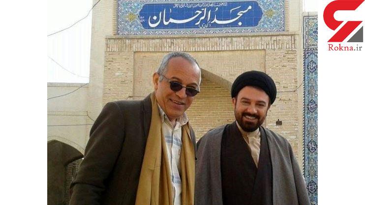 محمد حسین لطیفی کارگردان ایرانی  داغدار شد +عکس