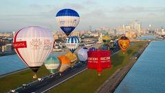 پرواز 170 بالن در آسمان بریتانیا + عکس