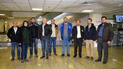 هم اکنون هیات 7 نفره فرانسوی به تهران وارد شدند