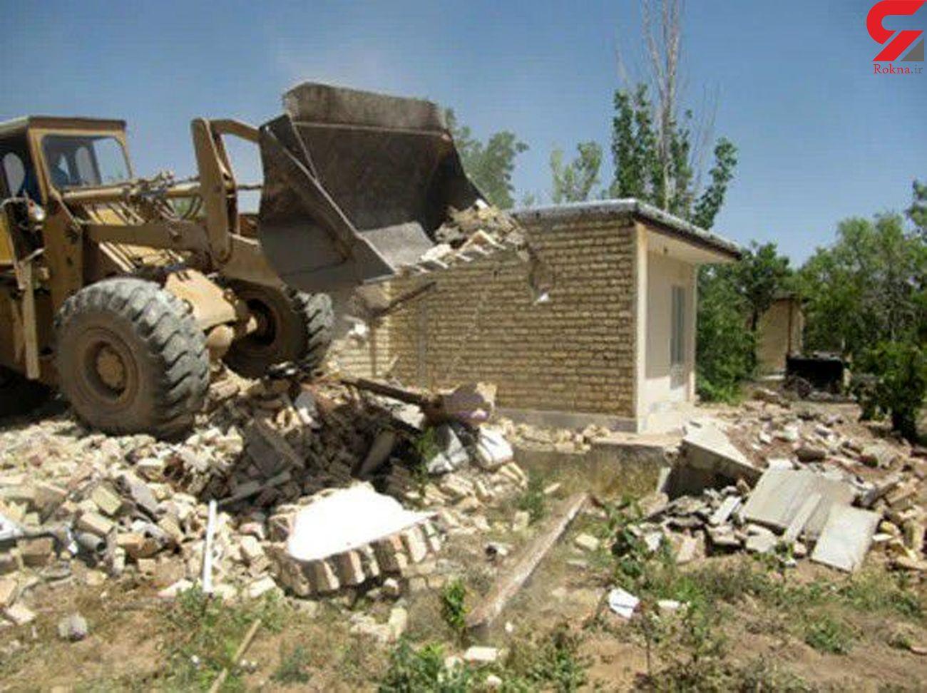 تخریب ۲۰ هکتار ساخت و سازغیر مجاز اراضی کشاورزی در لرستان