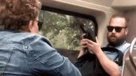 اقدام زشت زن استرالیایی در قطار + فیلم
