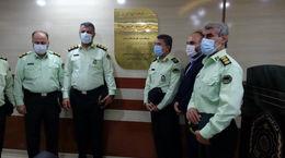 افتتاح سالن ورزشی پلیس فرودگاه آبادان + فیلم
