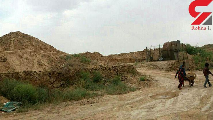زنده به گور شدن یک کودک کار در کوره آجرپزی / در مشهد رخ داد