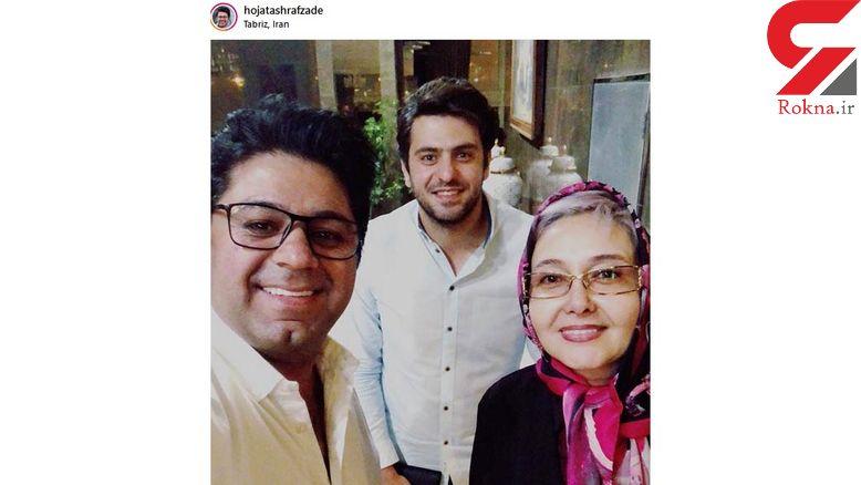 سلفی سه چهره معروف در تبریز! +عکس