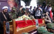 تشییع و خاکسپاری پیکر امیر سرتیپ احمد ترکان پدر توپخانه ایران