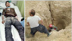 گفتگو با حسن 26 ساله که 6 روز داخل چاه باغ توت گرفتار بود + فرشته کوچولو ناله ها را شنید + عکس