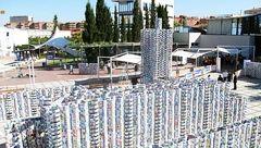 قلعه شیری با 50 هزار پاکت شیر+عکس