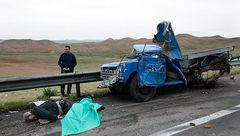 مرگ 2 تبعه پاکستانی در سانحه رانندگی ایوان