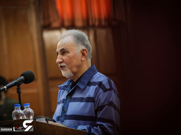 عکس هایی از دادگاه نجفی که ابهامات زیادی را رو می کند! / جدال نجفی با کارشناسان اسلحه + گزارش تصویری