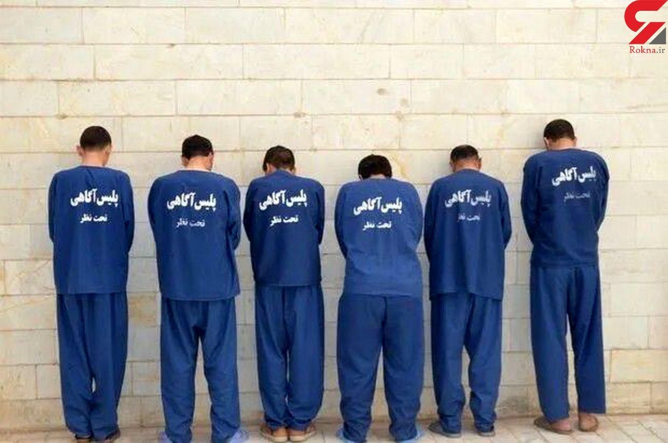 دستگیری ۲۶ سارق حرفهای در بروجرد