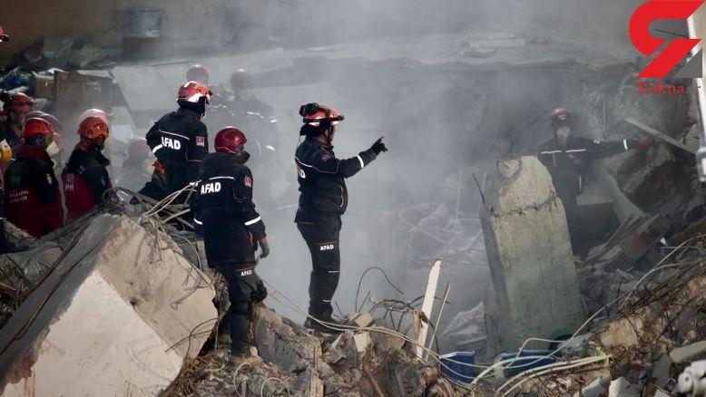 آمار مجروحین در حادثه ریزش ساختمان + عکس