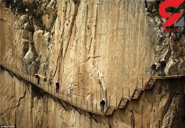 خطرناکترین پیادهراه جهان کجاست؟+تصاویر