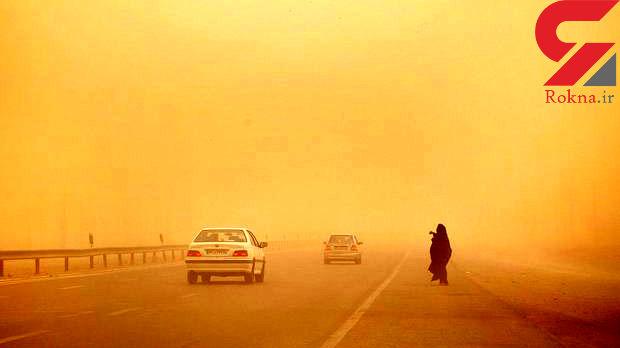 ادامه طوفان شن در سیستان وبلوچستان