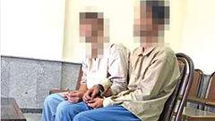 2 دختر شهرستانی پایشان به تهران نرسیده به باغ رفتند ! /  2 پسر خبیث دستگیر شدند +عکس