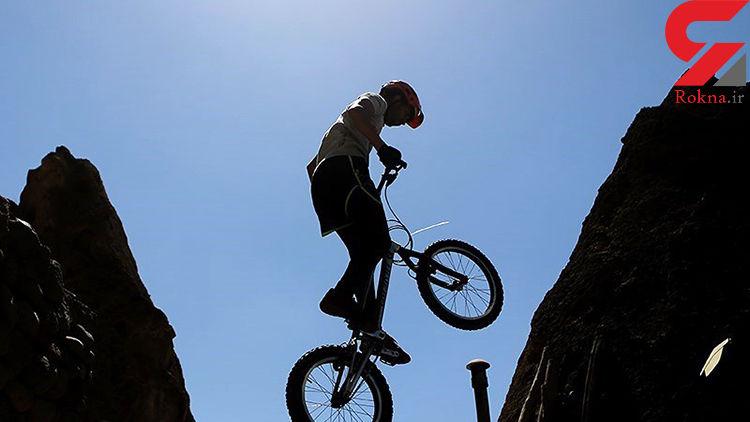 مرگ دردناک دوچرخه سوار 70 ساله در لاهیجان