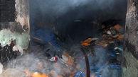 شوفاژخانه یک گلخانه در گنبدکاووس آتش گرفت