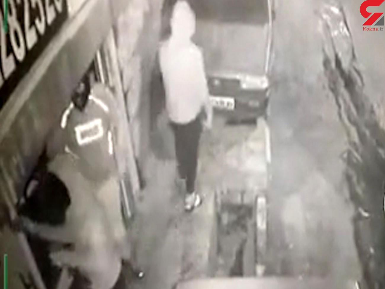 دومین سرقت ناموفق سه سارق نقاب دار/ این بار در نسیم شهر رخ داد +فیلم