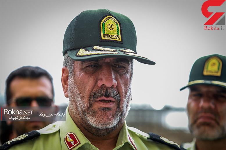 سردار محمدیان: استان البرز آرام است / پلیس اعتراض را حق مردم می داند اما نه اغتشاش!