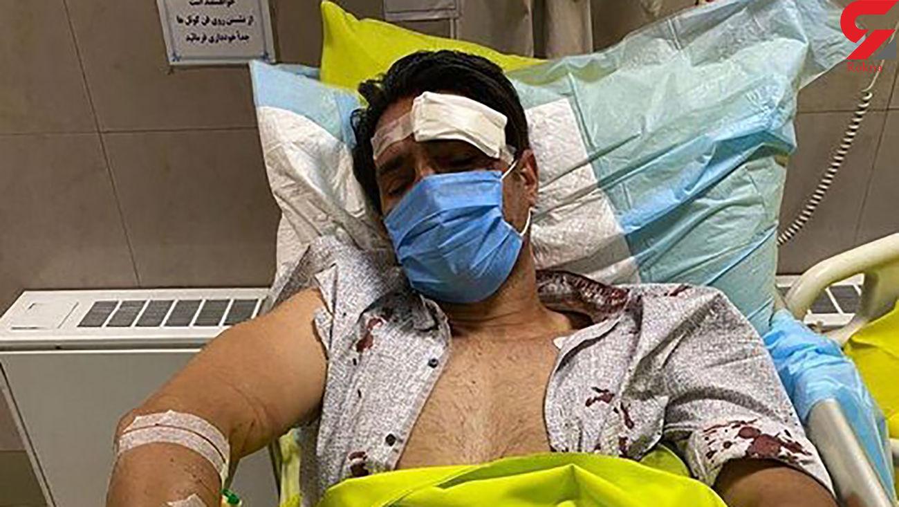 آخرین وضعیت امیر حسین صادقی پس از تصادف در بیمارستان + فیلم