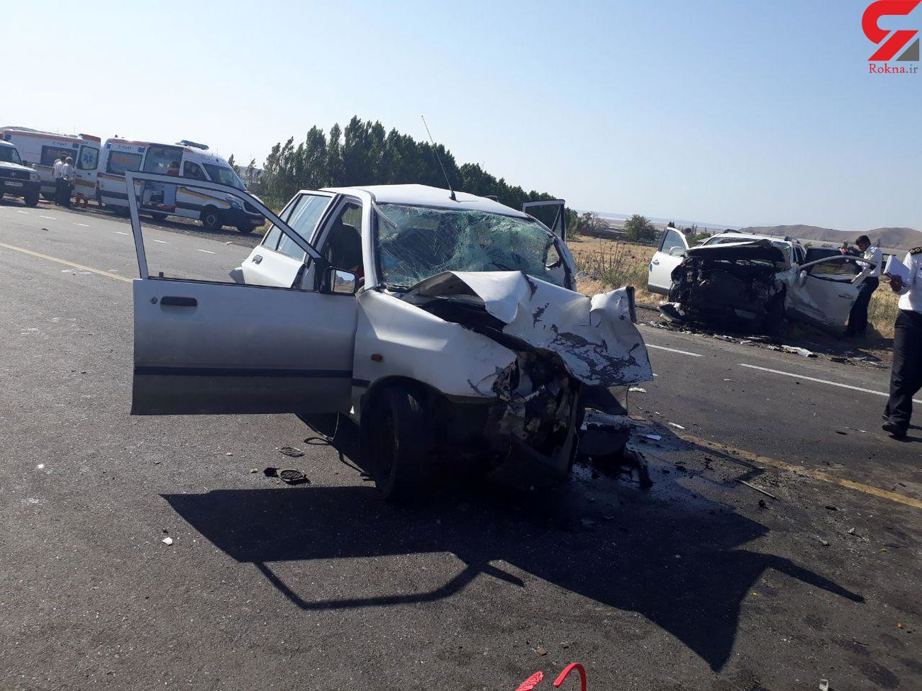 تصادف خونین سراتو و پراید یک کشته و سه مصدوم در اسکو به جا گذاشت + عکس
