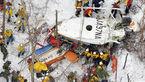 9 کشته درسقوط بالگرد امدادی ژاپنی+عکس حادثه