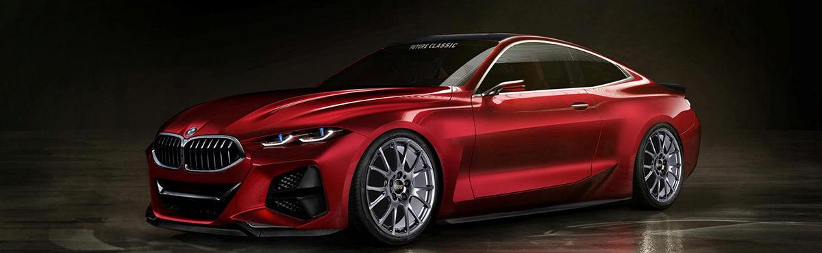 تجلی هنر طراحی بیامو در کانسپت خودروی BMW 4 + تصاویر