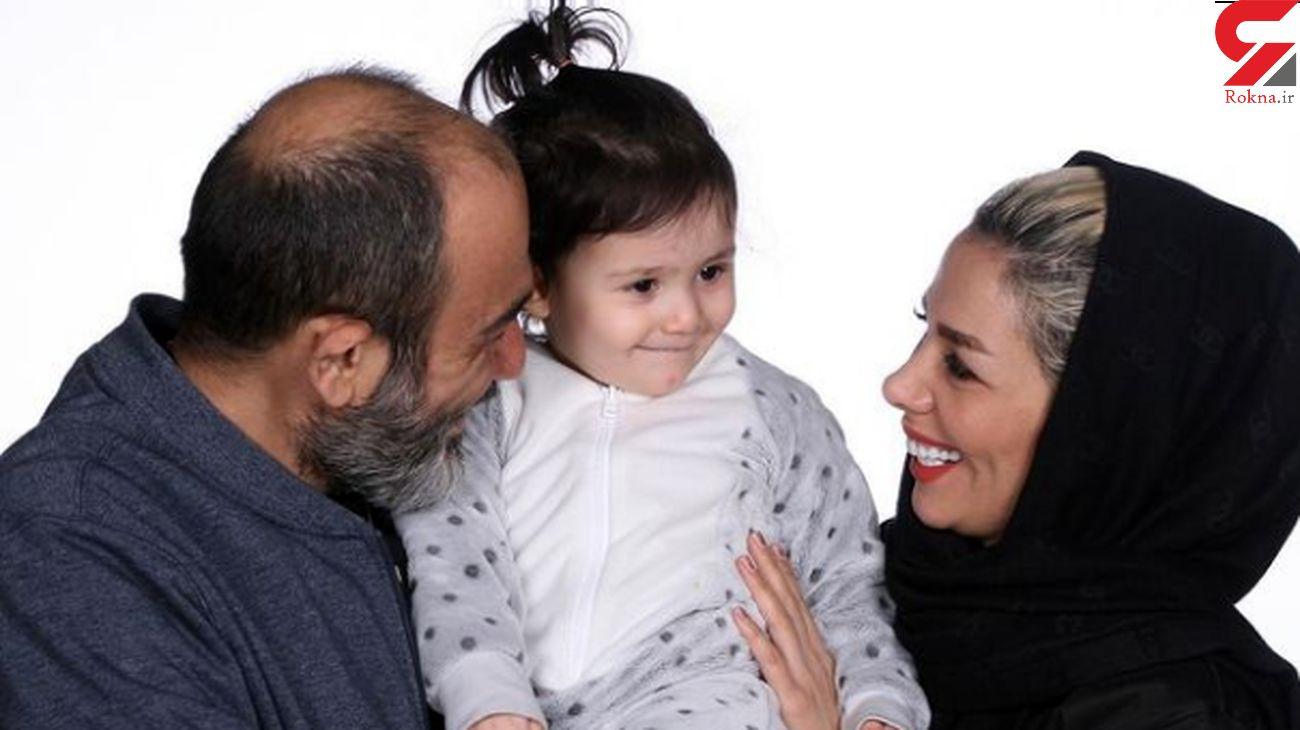 مهران غفوریان و خانواده قشنگش