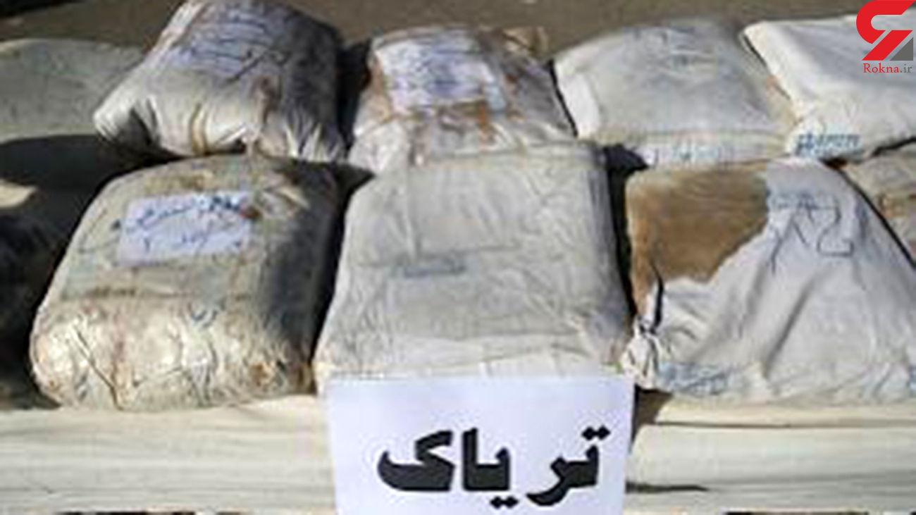 کشف ٢١۵ کیلوگرم تریاک در استان فارس