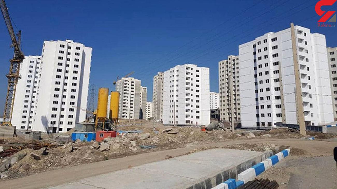 مراسم افتتاح و کلنگ زنی طرحهای مسکنی وزارت راه و شهرسازی