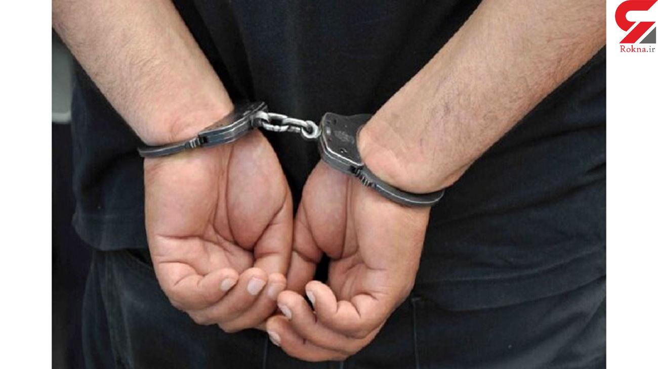 دستگیری سارق حرفه ای در غرب تهران