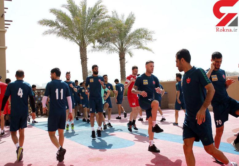 حضور دختران مجرد در اردوی پرسپولیس در امارات!