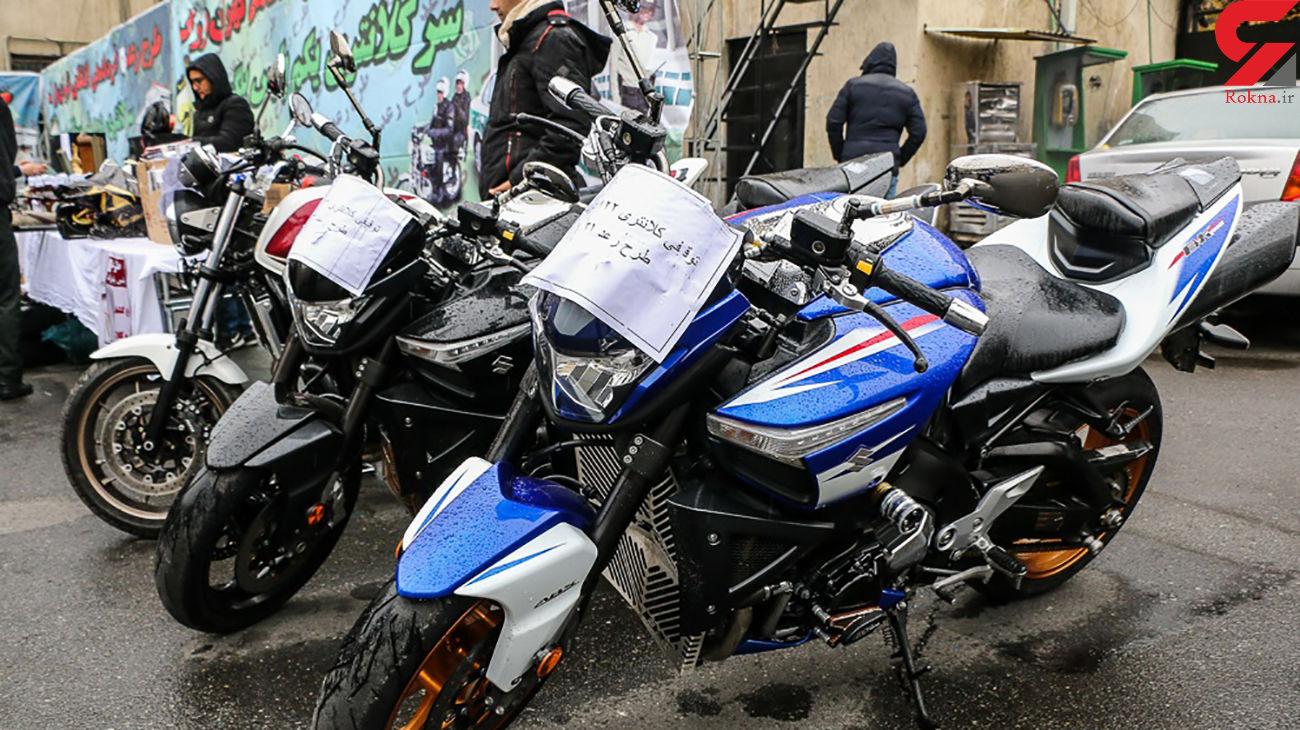 توقیف موتورسیکلت قاچاق 20 میلیاردی در فراشبند