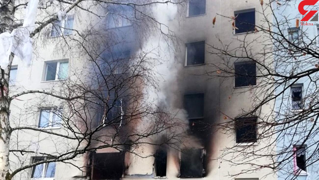سرنوشت تلخ کودک 7 ساله در انفجار امروز تهران